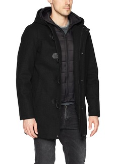 GUESS Men's Hooded Toggle Jacket  XXL