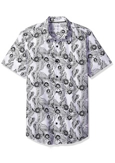 GUESS Men's Ink Palm Laguna Shirt  M