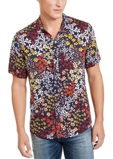 Guess Men's Jardin Floral Shirt