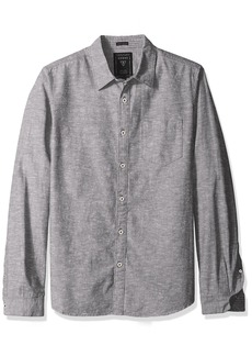 GUESS Men's Knot Chambray Shirt  L