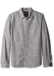 GUESS Men's Knot Chambray Shirt  XL