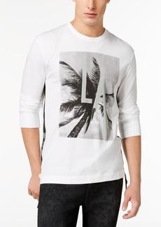 Guess Men's La Reflective Graphic-Print T-Shirt