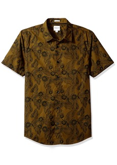 GUESS Men's Ink Palm Laguna Shirt  M