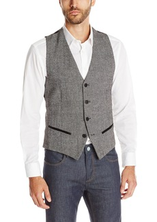 GUESS Men's Laurel Tweed Vest  L