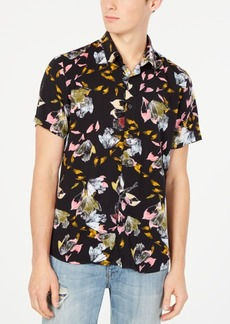 Guess Men's Leaf Print Shirt