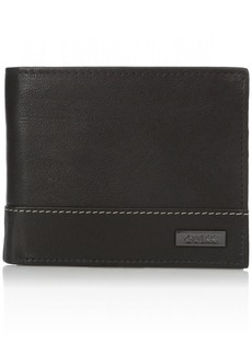 Guess Men's Leather Passcase Wallet