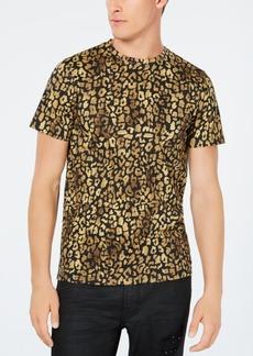 Guess Men's Leopard Graphic T-Shirt