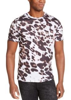 Guess Men's Leopard Print T-Shirt