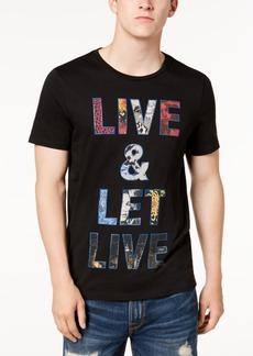 Guess Men's Let Live Graphic-Print T-Shirt