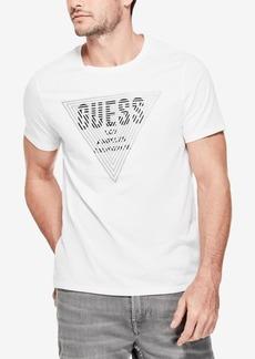 Guess Men's Linear Logo-Print T-Shirt