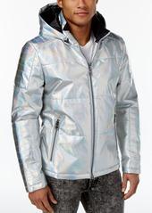 Guess Men's Link Bonded Foil Puffer Jacket