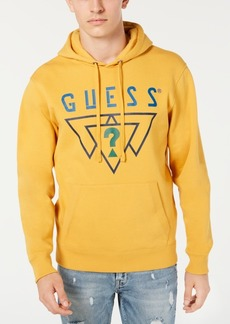 Guess Men's Logo Triangles Hoodie