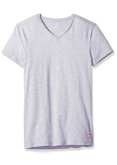 Guess Men's Logo V Neck T-Shirt