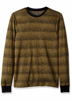 GUESS Men's Long Sleeve Iron Rock Jersey Shirt  M