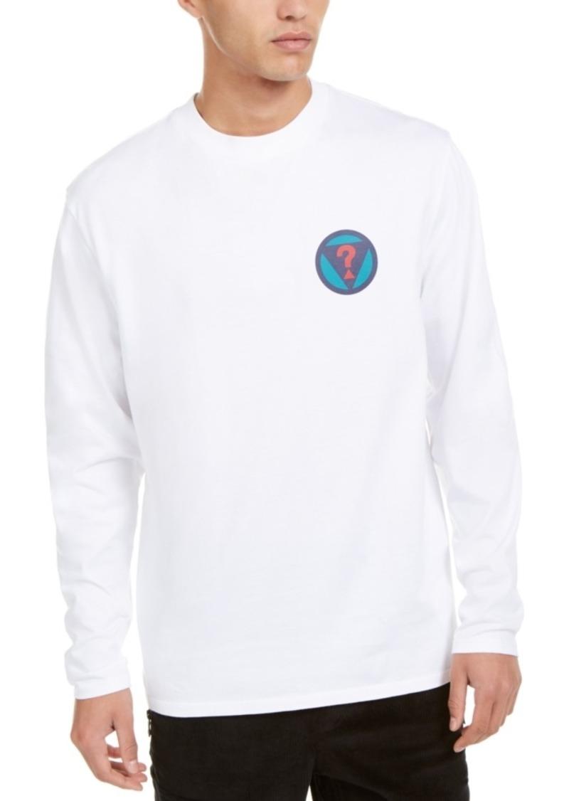 Guess Men's Long-Sleeve Logo T-Shirt