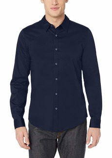 GUESS Men's Long Sleeve Luxe Stretch Shirt  S
