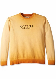 Guess Men's Long Sleeve Roy Graphic Crew Neck Shirt  XL