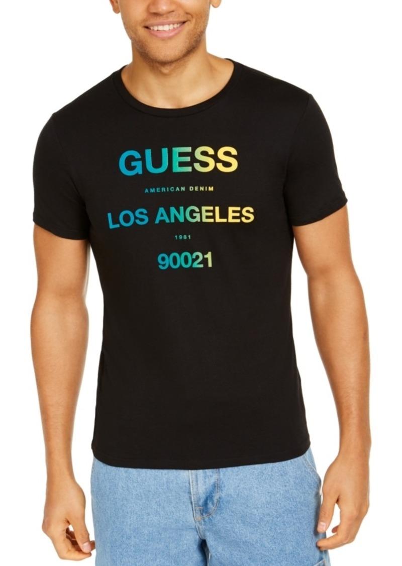 Guess Men's Los Angeles Graphic T-Shirt