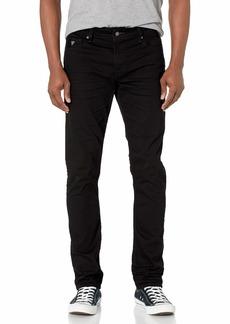 GUESS Men's Low Rise Slim Fit Tapered Leg Jean  34W X 32L