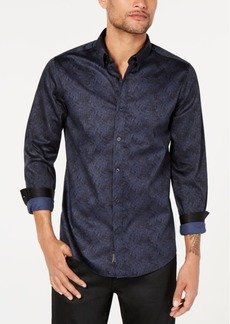 Guess Men's Luxe Cyber Terrain Shirt