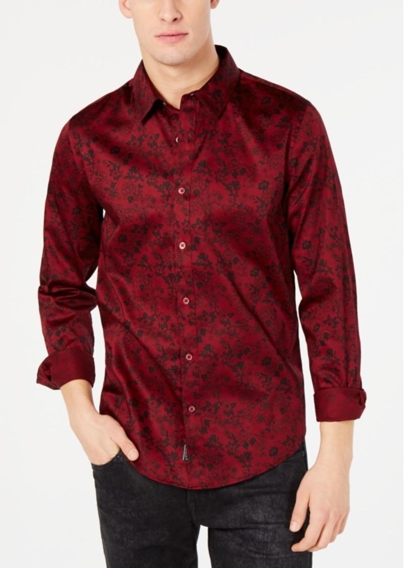 Guess Men's Luxe Floral Nouveau Shirt