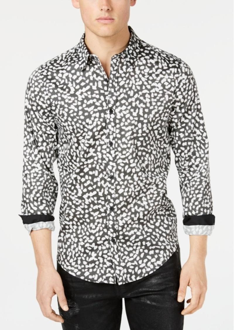 Guess Men's Luxe Ink-Dot Shirt