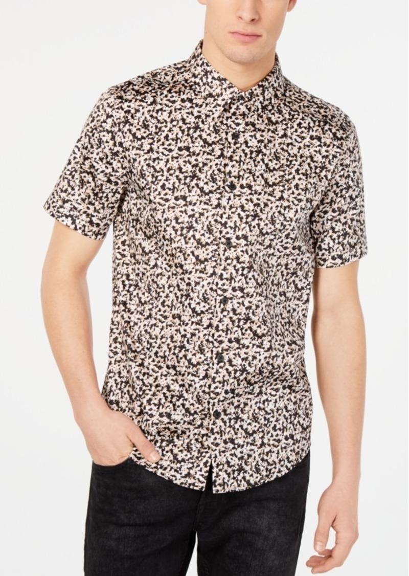 Guess Men's Luxe Paint Drop Shirt