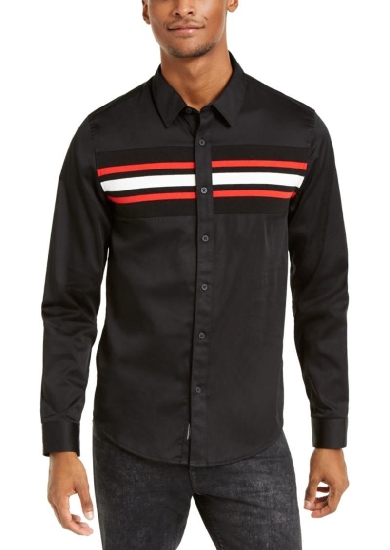 Guess Men's Luxe Stripe Shirt