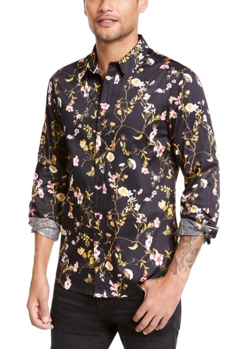 Guess Men's Majestic Floral Shirt