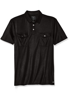 Guess Men's Mason Military Polo Shirt  M R
