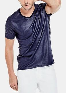 Guess Mens Mason Yoke V-Neck T-Shirt
