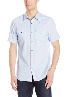 GUESS Men's Melange Check Shirt  M