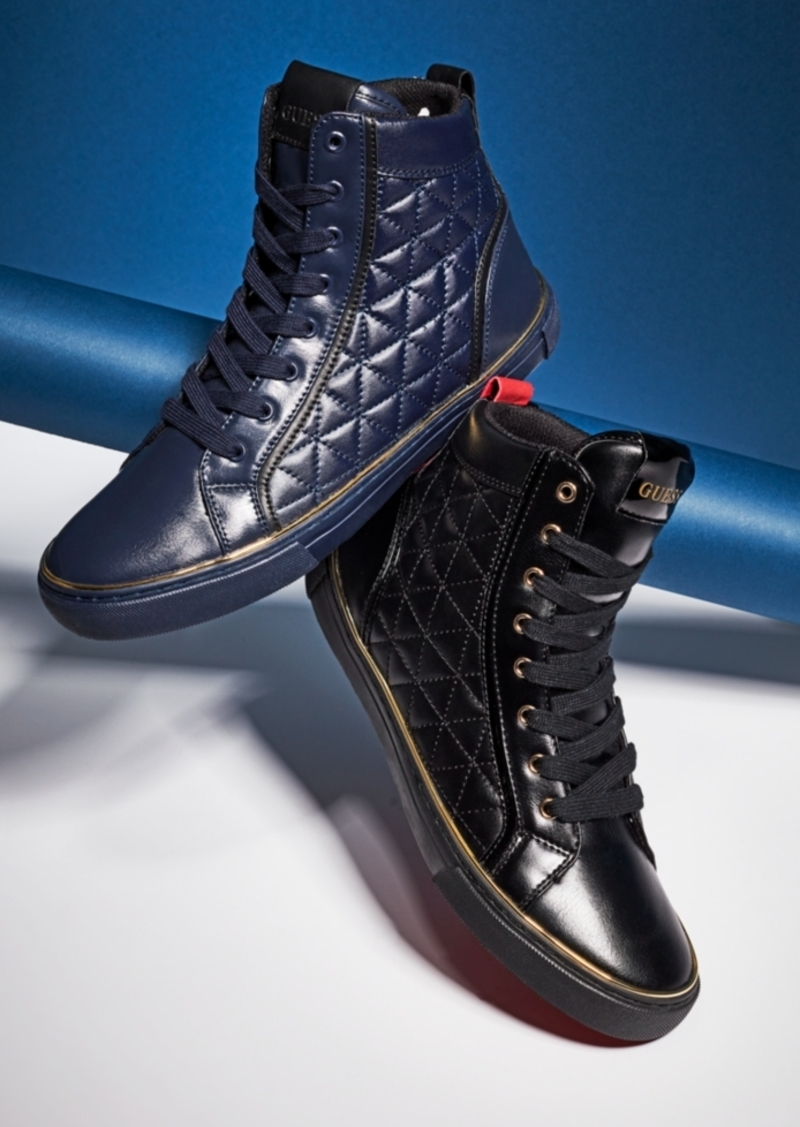 Melo High-Top Sneakers Men's Shoes