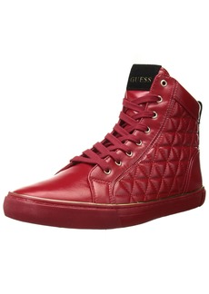 GUESS Men's Melo Sneaker red