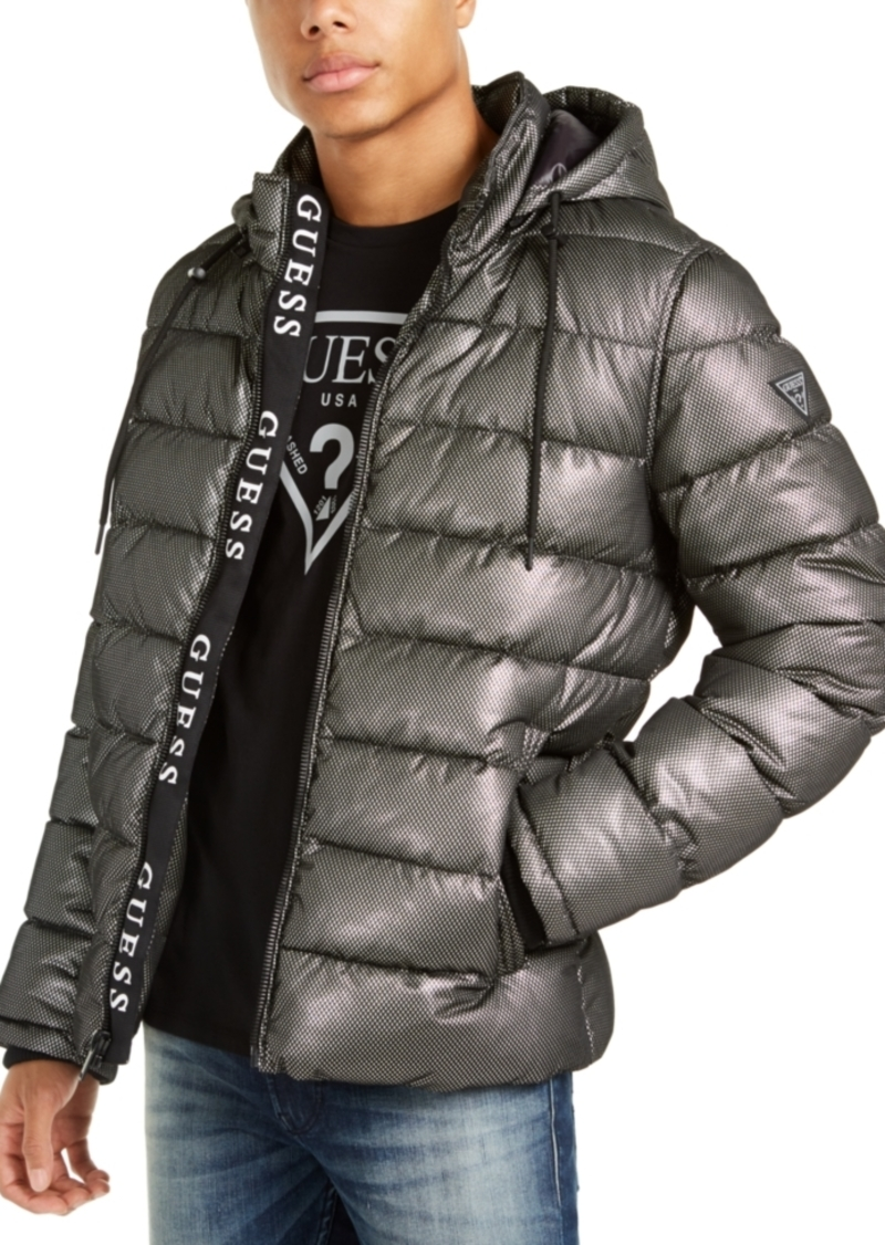 Guess Men's Mesh Puffer Jacket