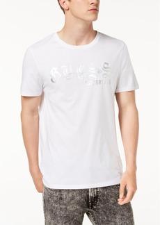 Guess Men's Metallic Logo Graphic T-Shirt