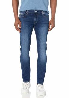 GUESS Men's Mid Rise Skinny Fit Jean  30W X 32L