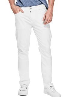 GUESS Men's Mid Rise Slim Fit Tapered Leg Jean  34W X 32L