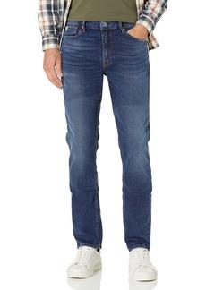 GUESS Men's Mid Rise Slim Fit Tapered Leg Jean  W X 32L