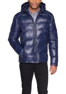 GUESS Men's Midweight Puffer Jacket  XL