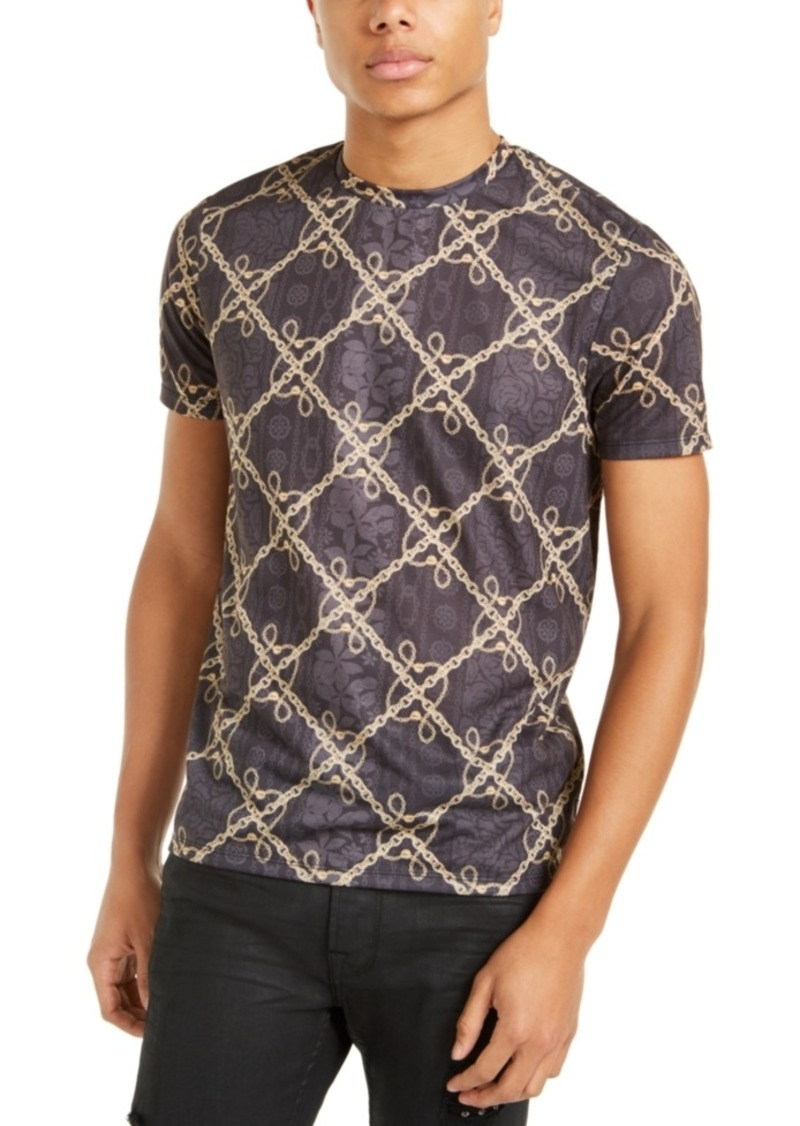 Guess Men's Multi-Print T-Shirt