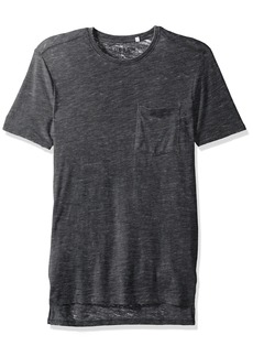 GUESS Men's Myer Slub Burnout T-Shirt  XXL