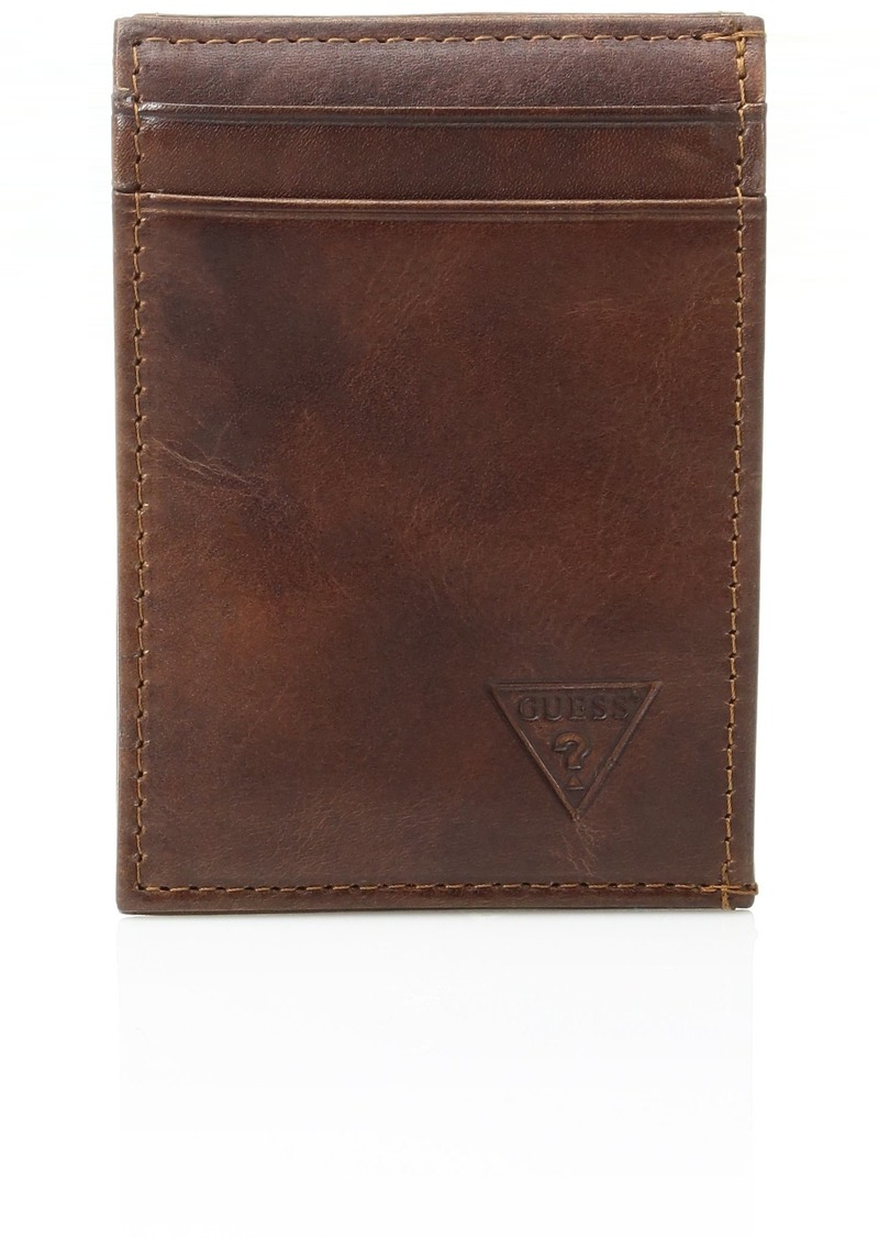 Guess Men's Naples & Montana Slim Front Pocket Wallet