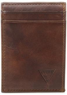 Guess Men's Naples  Slim Front-Pocket Wallet