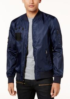 Guess Men's Nylon Patch Jacket