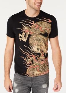 Guess Men's Oversized Dragon T-Shirt