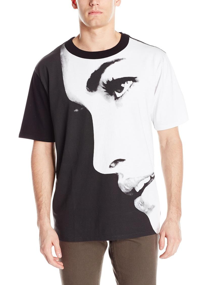 55607076 GUESS GUESS Men's Oversized Face Crew Neck T-Shirt M   T Shirts