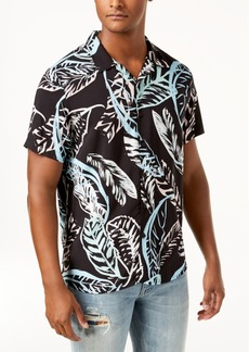 Guess Men's Palm Tree Shirt