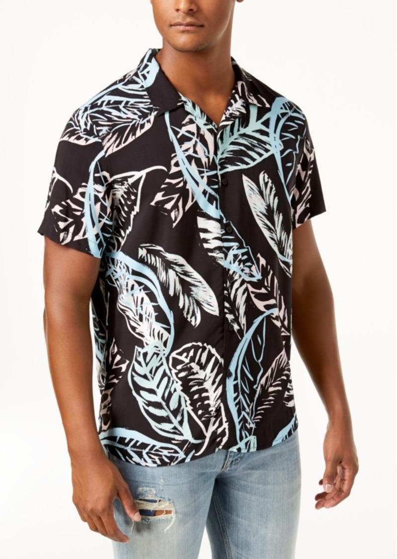 Guess Men's Palm Tree Shirt