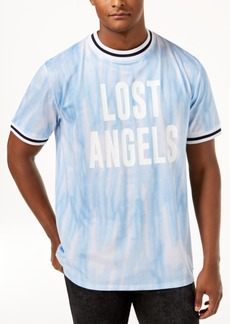 Guess Men's Perforated Tie-Dye Jersey